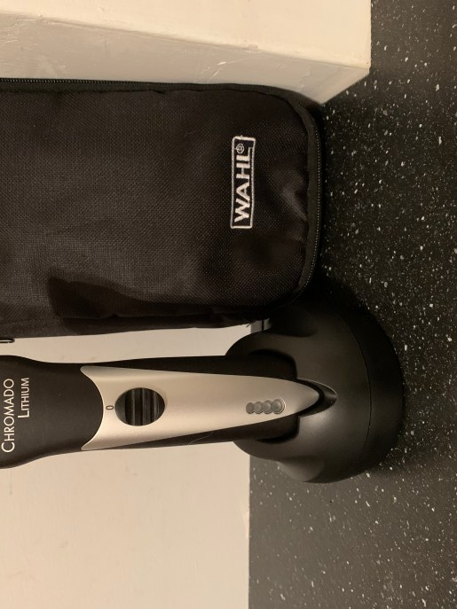 My new Wahl cordless dog clippers.