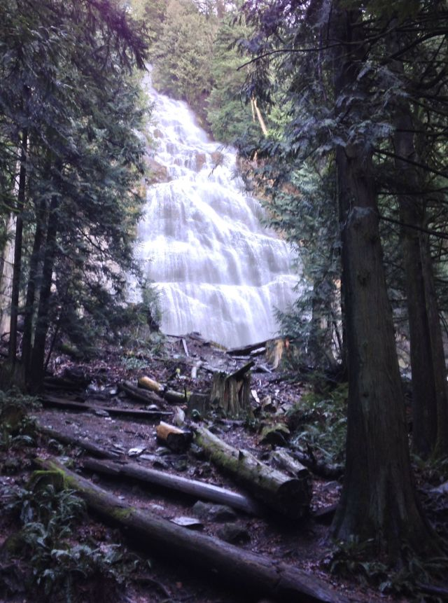 Bridal Veil Falls in Chilliwack