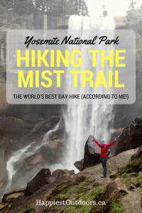 Hike the world's best day hike, the Mist Trail in Yosemite National Park, California