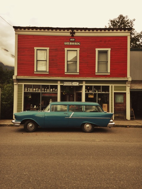 The Toaster Museum Cafe in Stewart, BC