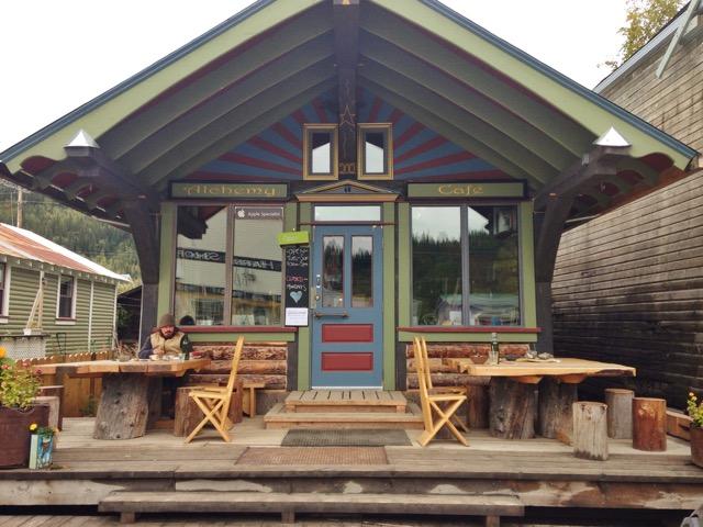 Alchemy Cafe in Dawson, YT