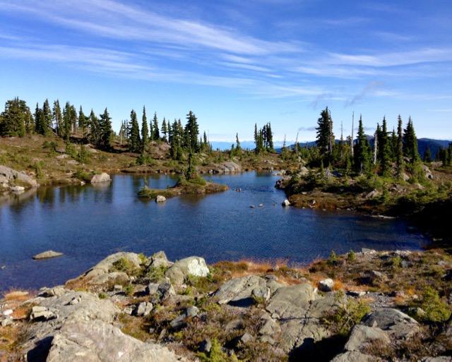 Tarn in Strathcona Provincial Park