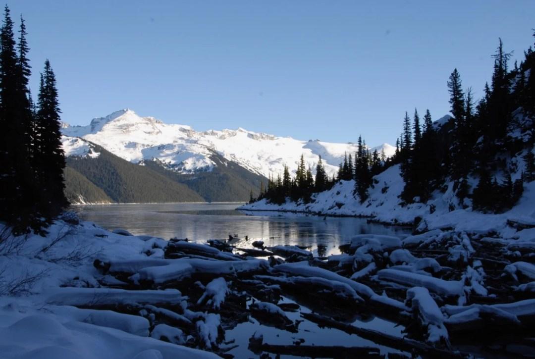 First views of Garibaldi Lake