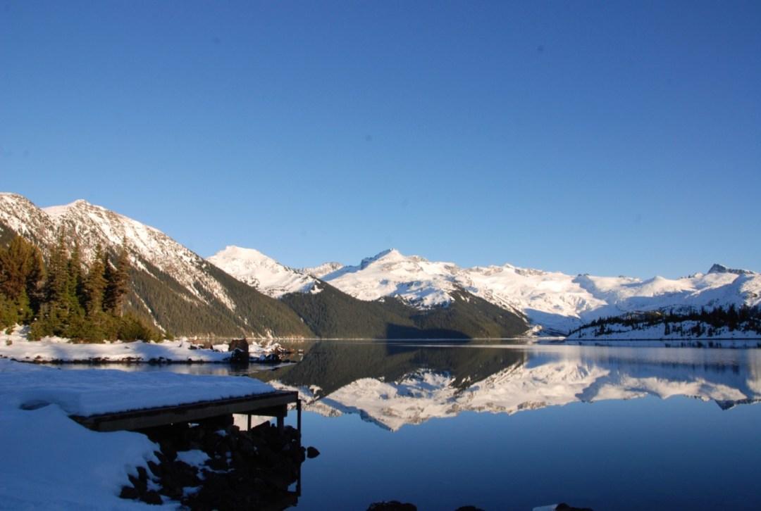 Boat dock at Garibaldi Lake