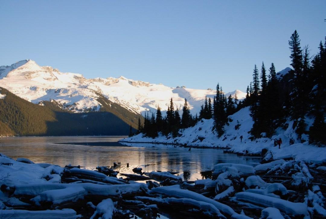 A last look at Garibaldi Lake