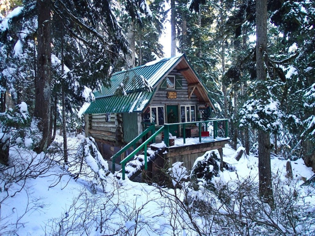 Cabin at Hollyburn in West Vancouver. Just one of 15 unusual hikes near Vancouver.