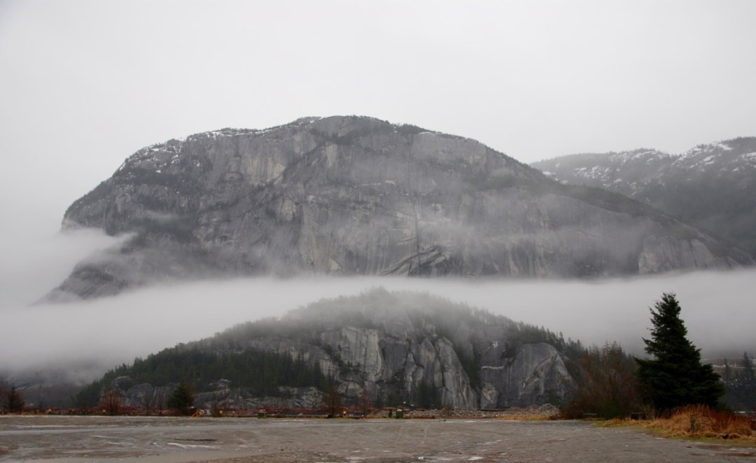 Stawamus Chief from Nexen Beach