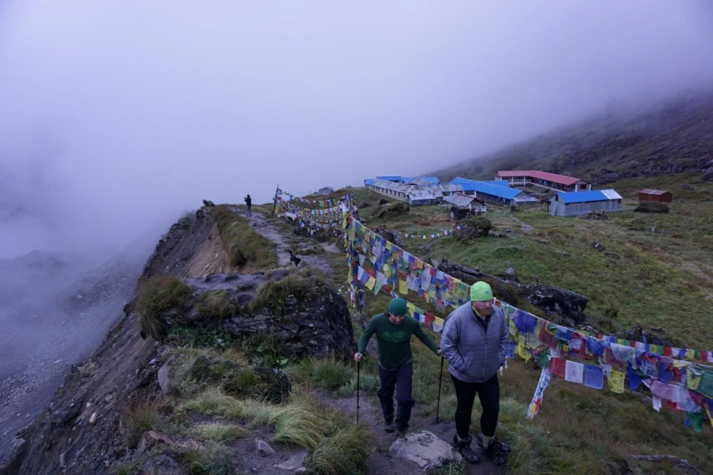 Trekking to Annapurna Base Camp