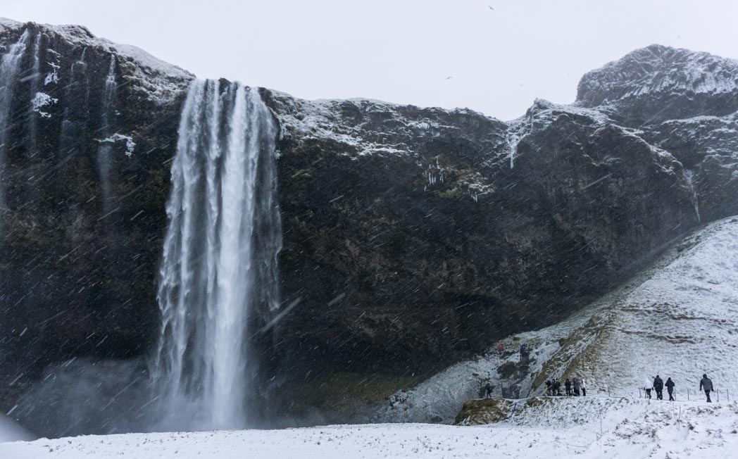 Seljalandfoss in winter in Iceland: 7 Things You Might Not Know About Winter in Iceland