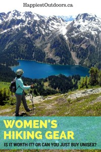 Women's hiking gear: Is it worth it? Or can you just buy unisex? Which women's hiking gear is actually worth buying? Women's hiking gear: when is it actually worth it? When should you buy women's hiking gear? Are woman's backpacks worth it? Should you buy a women's sleeping bag or pad?