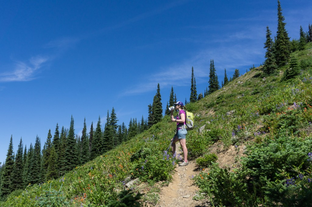 Hiking to Poland Lake in Manning Provincial Park, British Columbia, Canada