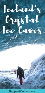 Iceland's Crystal Ice Caves. The Ultimate Guide to Ice Caves in Iceland: Everything you ever needed to know about visiting ice caves in Iceland. Find out how to go INSIDE the Crystal Cave glacier ice cave and see the blue ice.