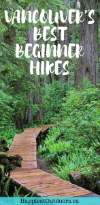Easy hikes with gorgeous West Coast views - perfect for beginners or tourists in Vancouver, BC. Hiking in Vancouver, British Columbia, Canada. #Vancouver #Hiking #BritishColumbia