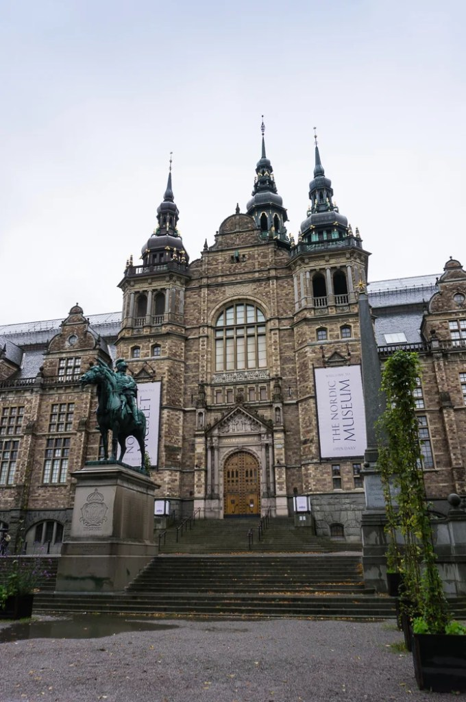 The Nordic Museum in Stockholm, Sweden. 30 photos of Stockholm that will inspire you to visit.