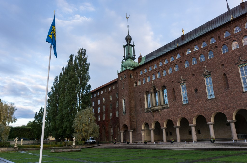 City hall in Stockholm, Sweden. 30 photos of Stockholm that will inspire you to visit.