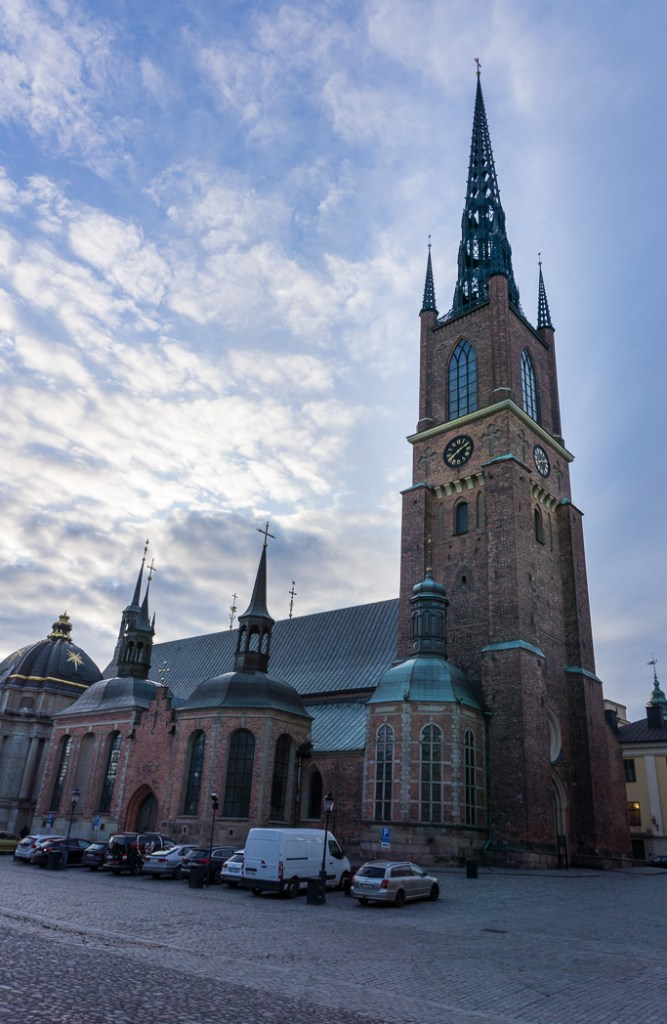 Riddarholmskyrkan church in Stockholm, Sweden. 30 photos of Stockholm that will inspire you to visit.