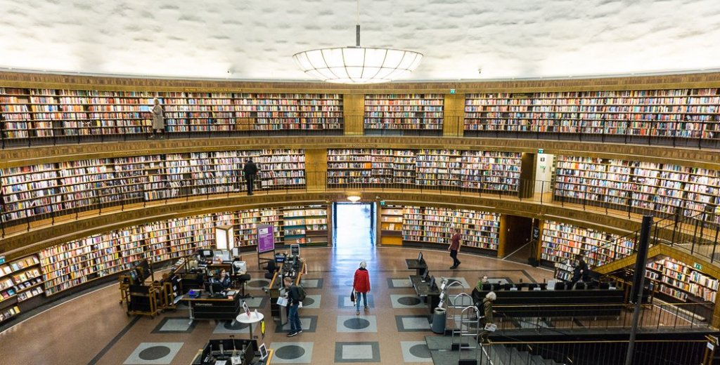 Stockholm Public Library. 30 photos of Stockholm that will inspire you to visit.