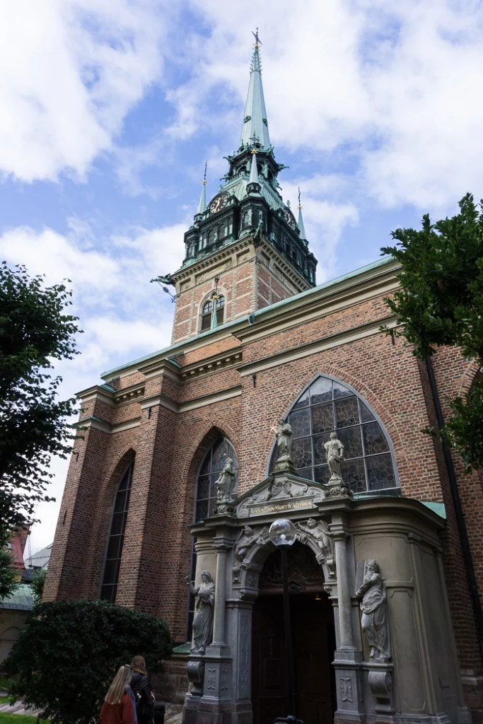 The German Church in Stockholm. Visit it on the Ultimate Self-Guided Walking Tour of Stockholm