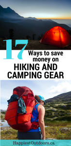 17 Ways to Save Money on Hiking and Camping Gear. Get hiking gear on a budget. How to find cheap hiking gear.