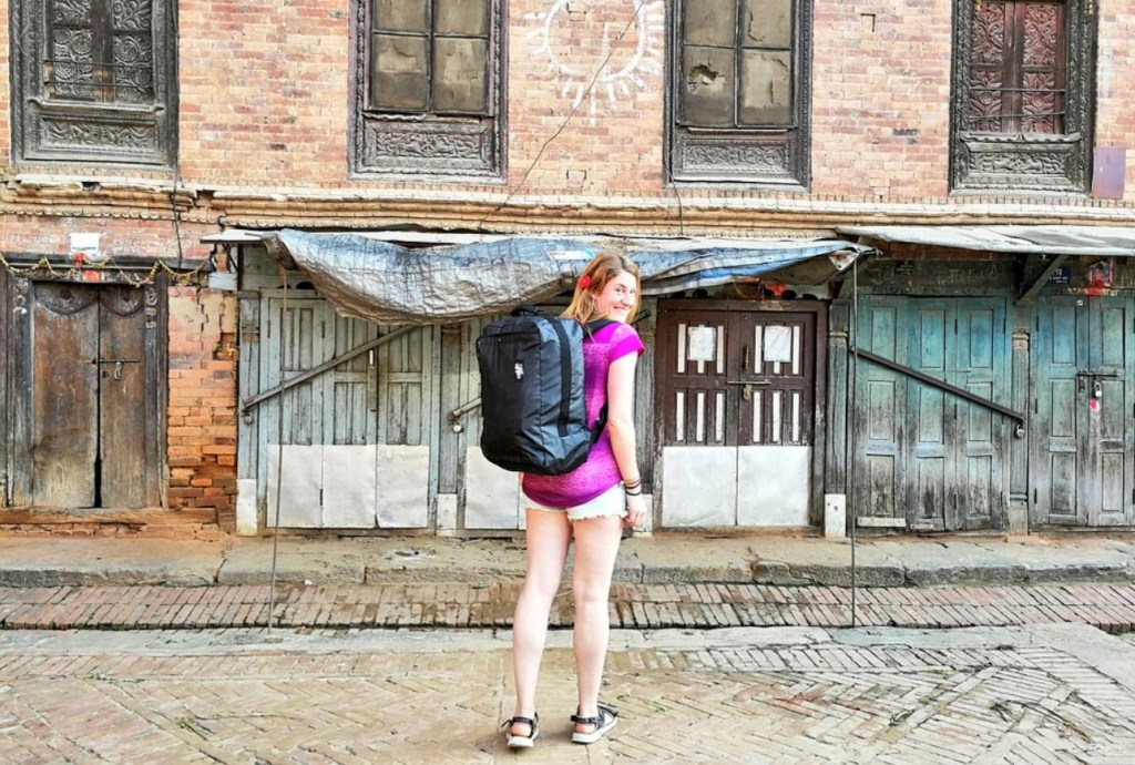 Best Travel Backpack for Hikers: CabinZero Urban Backpack. Learn how to find women's hiking backpacks and hiking gear for your body type.