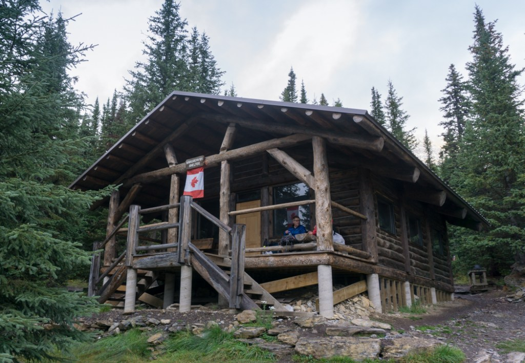 The Hargreaves Shelter at the Berg Lake Campground. The Ultimate Guide to Hiking the Berg Lake Trail in Mount Robson Provincial Park in the Canadian Rockies