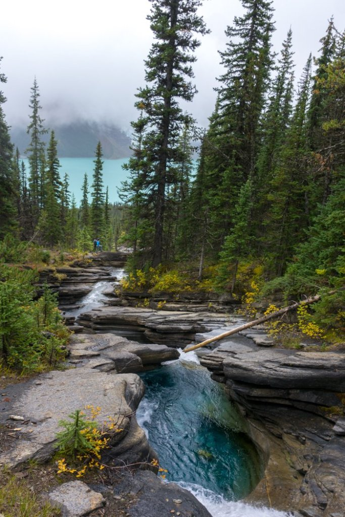 Toboggan Falls near Berg Lake. The Ultimate Guide to Hiking the Berg Lake Trail in Mount Robson Provincial Park in the Canadian Rockies