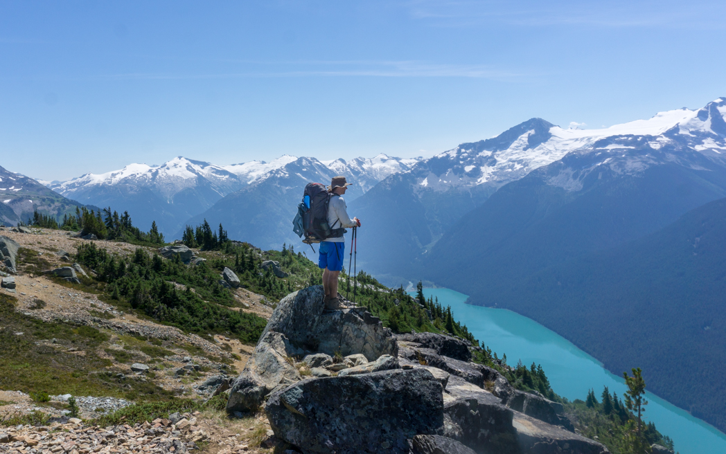 Hiking near Whistler, BC. Learn how to Leave No Trace when hiking and camping to keep the wilderness wild.