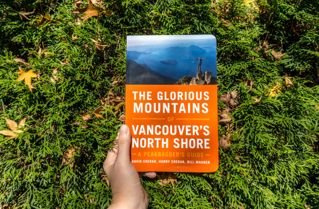 The book The Glorious Mountains of Vancouver's North Shore. Read my review of this book.