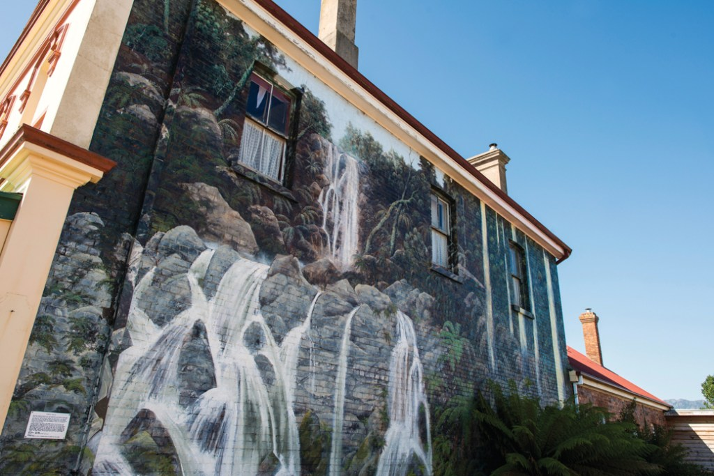 Murals in Sheffield, Tasmania. Just one of over 40 things to do in Devonport and Tasmania's North West.