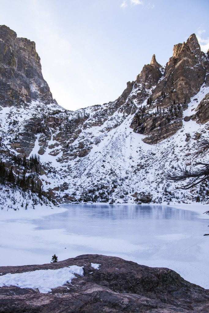 Emerald Lake in Rocky Mountain National Park. One of the best lake hikes in Colorado.