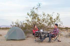 Camping at a Hipcamp site near Joshua Tree. Just one of our recommendations for the best places to stay near Joshua Tree.