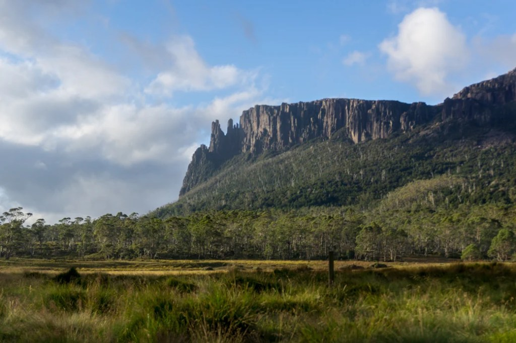 Mount Oakleigh is a less common Overland Track side trip.
