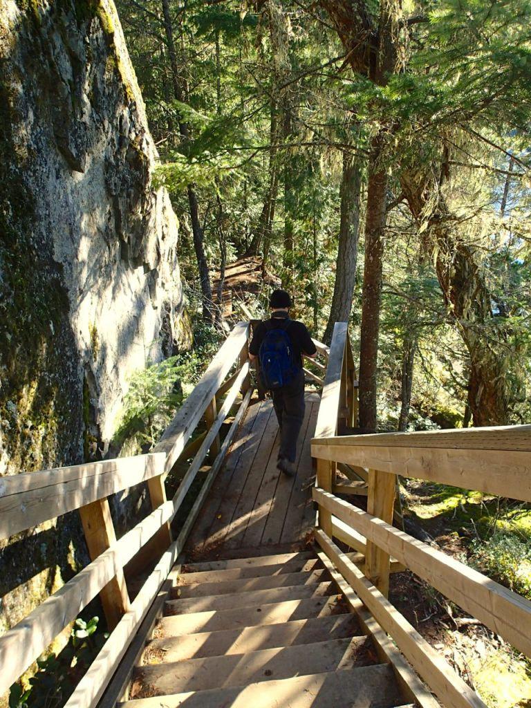 Brohm Lake trail in Squamish