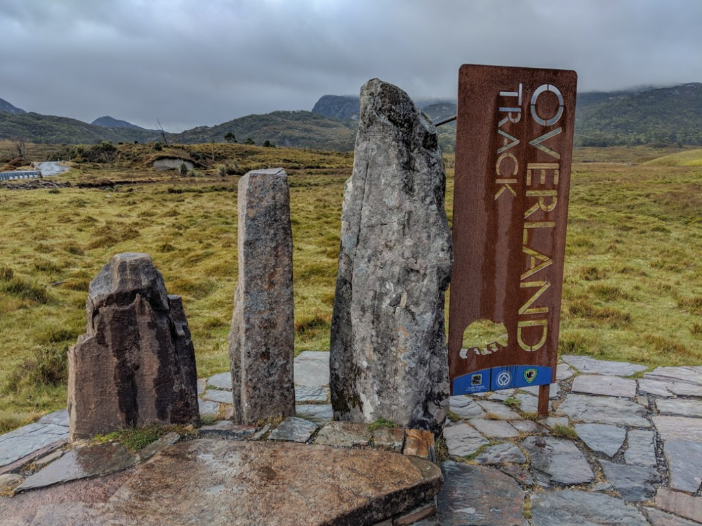 The Overland Track starts at Ronny Creek in Cradle Mountain National Park
