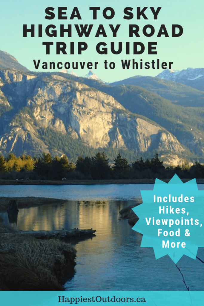 Sea to Sky Highway Road Trip Guide for driving from Vancouver to Whistler, British Columbia, Canada. Includes local's picks for places to stop, hikes, museums, food and where to stay. #SeatoSkyHighway #Vancouver #Canada #Whistler #BritishColumbia