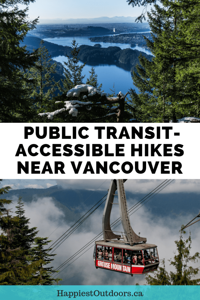 Public transit-accessible hikes near Vancouver, BC, Canada. Hikes near Vancouver you can get to by bus. #hiking #Vancouver #Canada