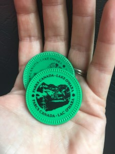 Lake O'Hara bus tokens