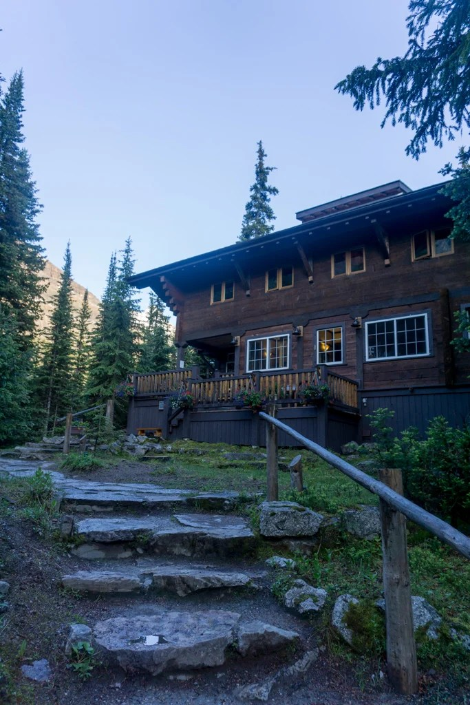 Lake O'Hara Lodge in Yoho National Park