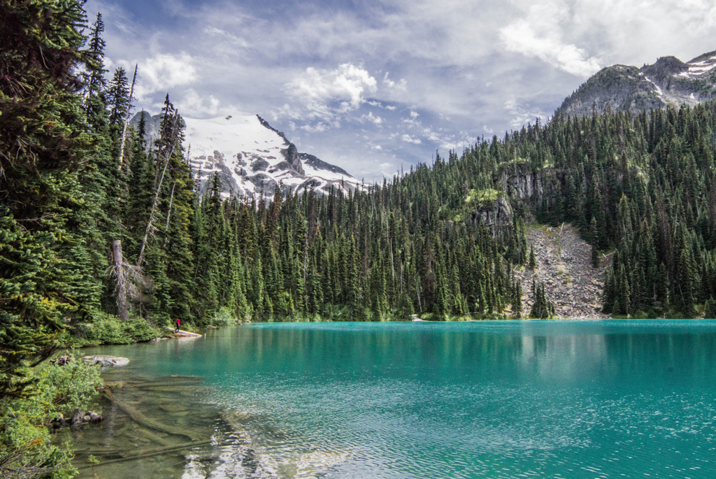 Joffre Lakes near Whistler, BC