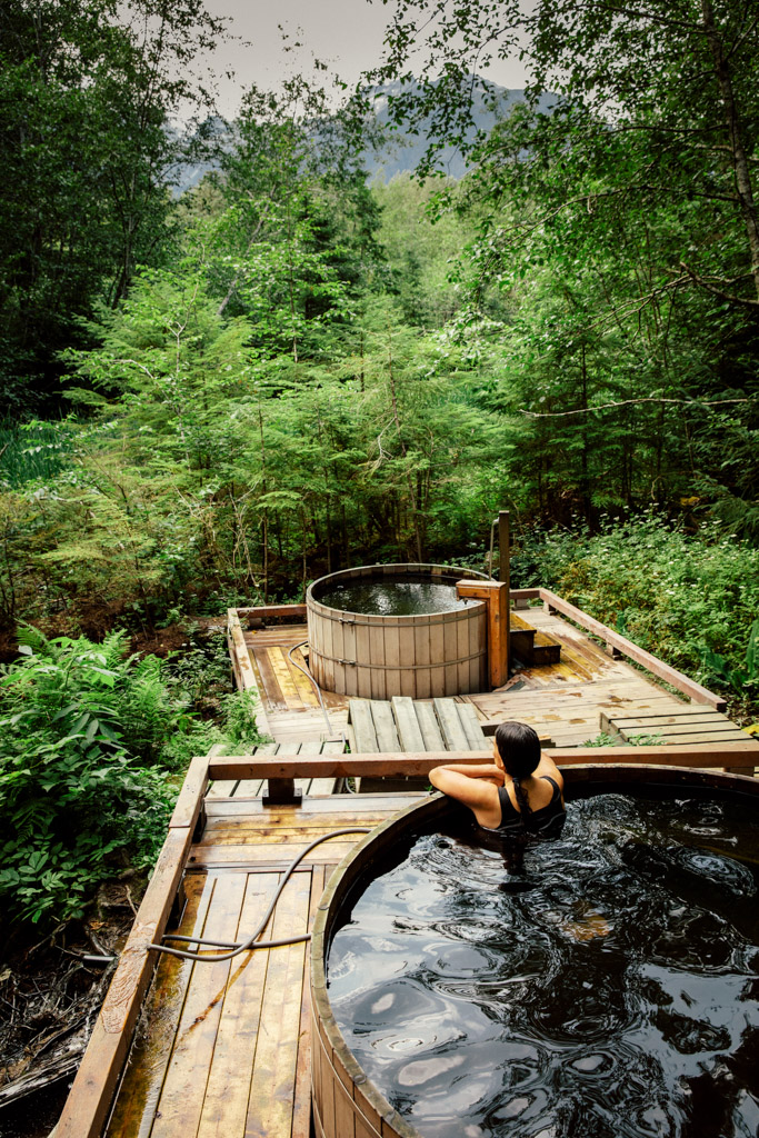 Aiyansh Hot Springs in Northern British Columbia