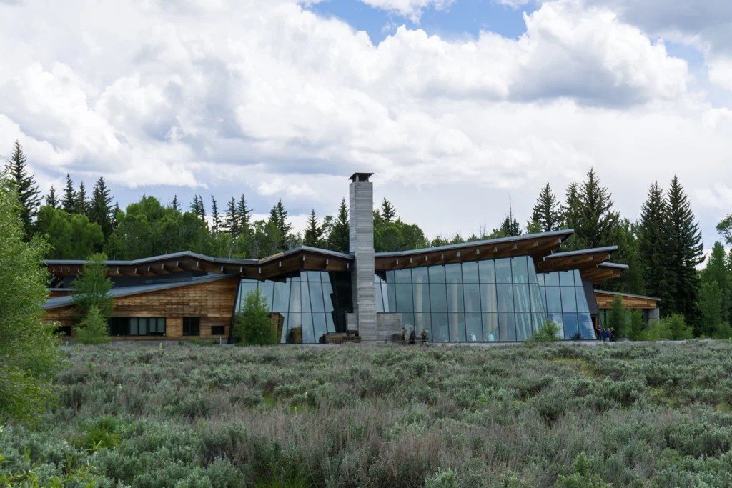 Craig Thomas Discovery and Visitor Center in Grand Teton National Park