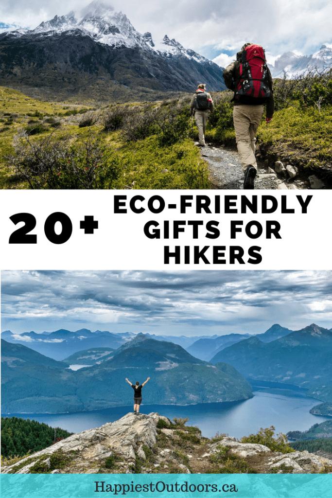 20+ eco-friendly gift ideas for hikers and campers. Buy a sustainable or zero-waste gift this year. Gift ideas for hikers. Gifts for hikers. Eco-friendly gifts. Eco-friendly gift ideas. Sustainable gifts for hikers. Sustainable gift ideas. Environmentally-friendly gifts. Eco-friendly hiking gear. Sustainable hiking gear. #hikinggear #giftsforhikers #hikinggifts #eco-friendlygifts #sustainablegiftideas