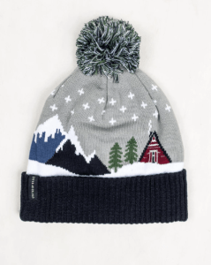 United by Blue Cabin Pom Beanie. A great gift for hikers