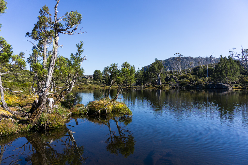 Pool of Bethesda in Walls of Jerusalem, Tasmania
