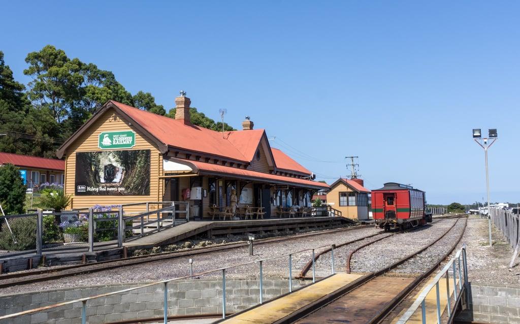 West Coast Wilderness Railway station in Strahan
