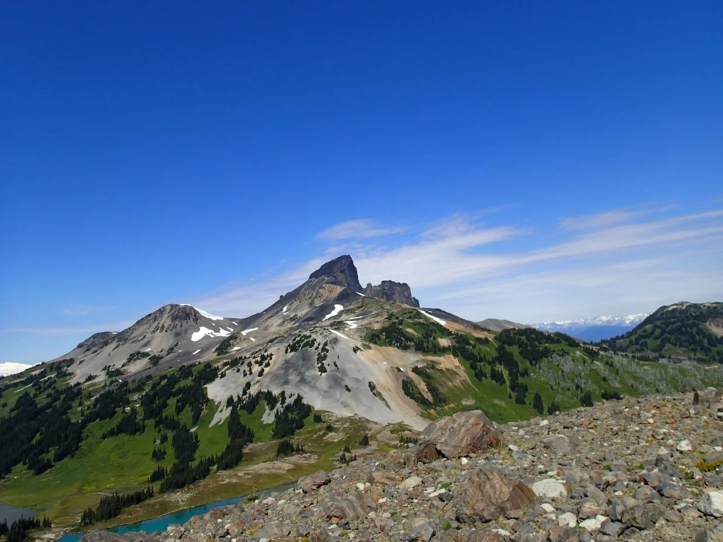 View of Black Tusk from Panorama Ridge in Whistler