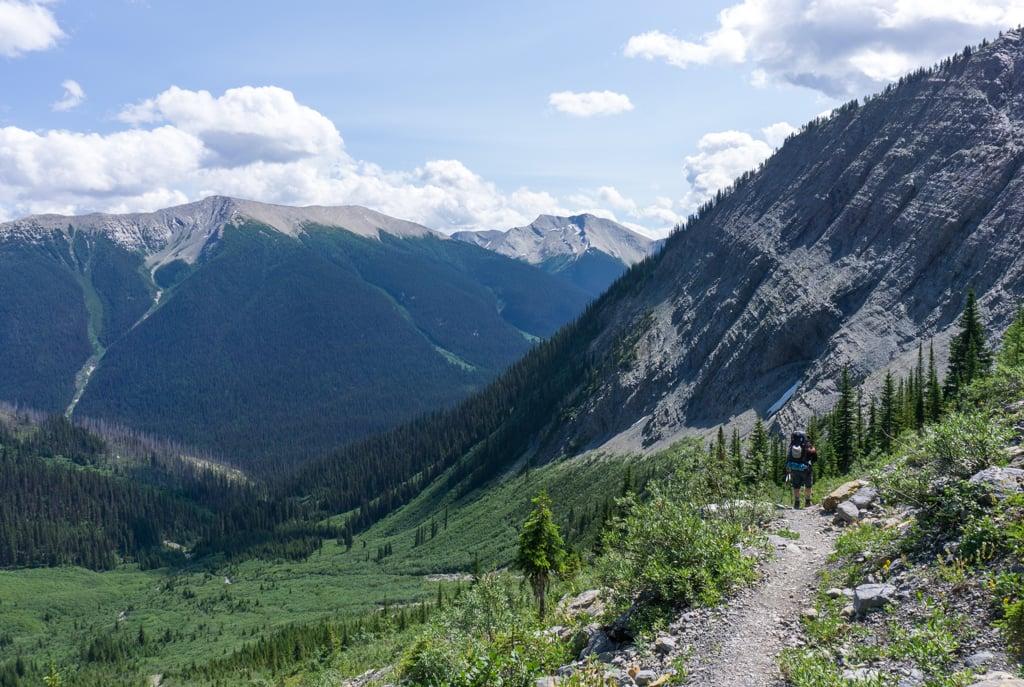 Descending towards Tumbling Creek