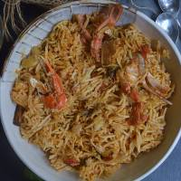 Crab Biryani | Instant Pot Crab Biryani