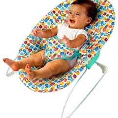 Bright Starts High Chair Blue Pads Fisher Price Newborn To Toddler Rocker