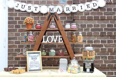 Candy Bar Hochzeit Mieten
